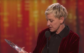 Ellen wins big at the People's Choice Awards