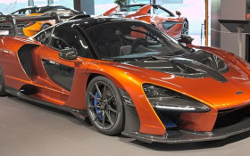 Used McLaren Senna goes on sale in South Africa for R29 million