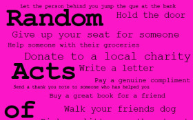 A Very Special Random Act of Kindness