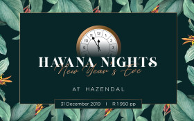 Hazendal Wine Estate New Year's Eve Havana Nights