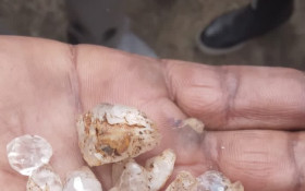 'Stones found in KZN are quartz crystals not diamonds but they aren't valueless'