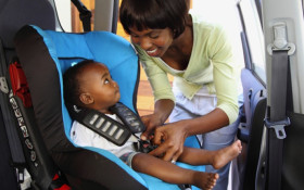 Only 7% of SA kids buckled up in the car