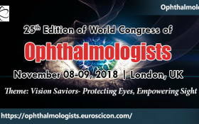 25th Edition of World Congress of Ophthalmologists
