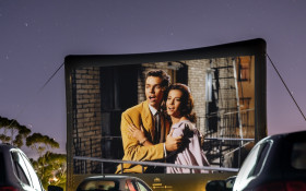 Take a drive out to the Galileo Drive-In cinema!