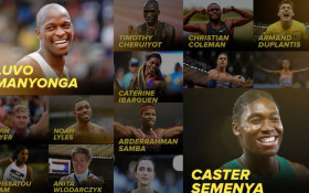 Vote Caster Semenya and Luvo Manyonga IAAF Athlete of the Year
