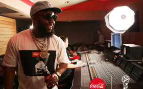 Jason Derulo and Cassper Nyovest collaborate on 2018 FIFA WC Coca-Cola anthem
