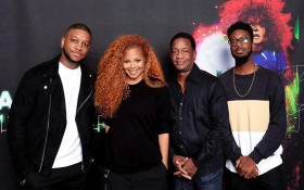 Watch Janet Jackson surprise superfan dad after his video goes viral