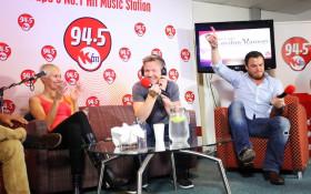 Gordon Ramsay Live on Kfm Breakfast