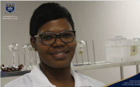 UWC Female Science Student Get science award