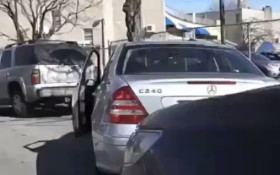 [WATCH] A driver smiles and waves at a driver with road rage