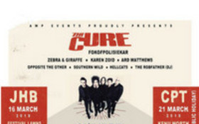Indie rock band The Cure coming to SA for the first time