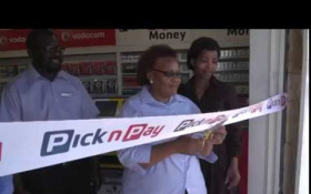 Pick n Pay offering township spaza shops convenient supply chain service