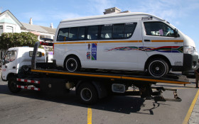 CT traffic officers tow away 23 taxis for blocking routes out of the city