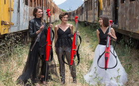 [LISTEN] Electric cello trio release classic Clegg cover in aid of local charity