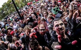 Zombie Walk Cape Town 2018 Charity Event
