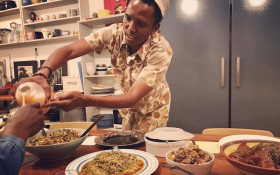 The Yeoville Dinner Club is a multi-sensory multi-cultural taste experience
