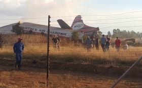 20 injured as plane crashes near Wonderboom airport
