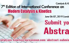 7th International Conference on Modern Catalysis & Kinetics