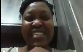 [WATCH] SA woman has a strong message for looters