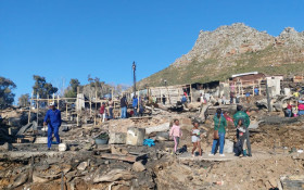 Free modular home kits delivered on Monday to Imizamo Yethu fire victims