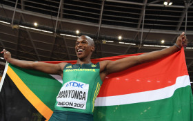 WC athlete, Luvo Manyonga, among the best in the world