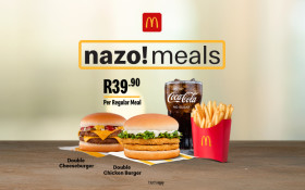 Win a share of R10 000 on Kfm 94.5 with Nazo Meals from McDonald's