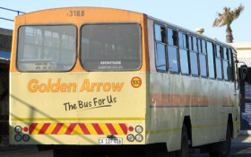 A dark Christmas for commuters taking the Golden Arrow bus