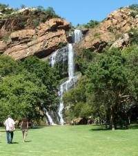 [WATCH] Walter Sisulu Botanical Gardens waterfall overflowing goes viral