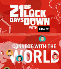 Connect With The World: 947 Breakfast Club chat to Duduzile in Abu Dhabi