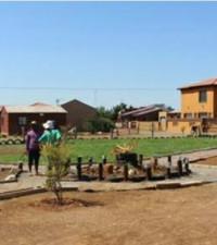 Sharpeville dumping site transformed into park