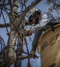 GALLERY: Eskom removes illegal power connections in Diepsloot