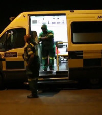 CT boy (8) dies after paramedics ambushed en route to hospital