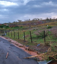 In wake of tornado, KZN warned to expect more thunderstorms, hail & rain