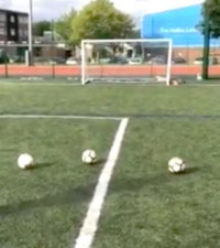 [WATCH] Dad promises son a PlayStation 5 if he hits crossbar, and he does