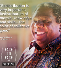 Face to face with Vusi Mahlasela