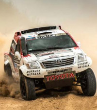 Toyota Imperial team does well in Dakar
