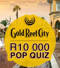 Gold Reef City R10K Pop Quiz Winner Shanise Reddy