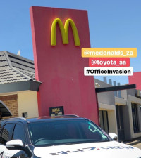 947 and McDonald's cool things down in Joburg