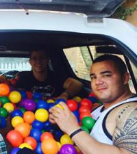 Bakkie Bros battle balls