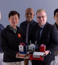 UJ engineering team fights COVID-19 with mechanical ventilator