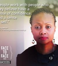 Face to face Ipeleng Mkhari