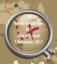 947 and Balwin Properties 21st Key Hunt - 7 November 2017