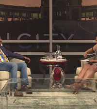 Anele gets up close and personal with Julius Malema