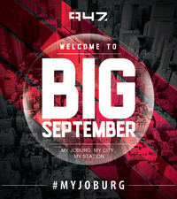947 Crew Finds Jozi: #947BIGSeptember is HERE!