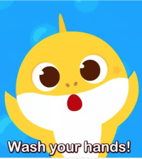 [WATCH] Wash your hands doo doo doo wash your hands, latest hit from Baby Shark