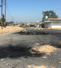 Police fire teargas at protesting Diepsloot residents