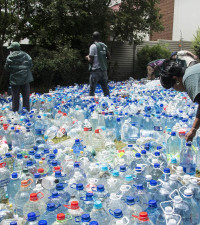 Organisations urge Gauteng residents to continue donating water for parched CT