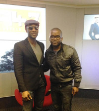 Aloe Blacc - The Man - pays us a visit!
