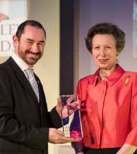 South African wins world's most venerated conservation award, the Green Oscar