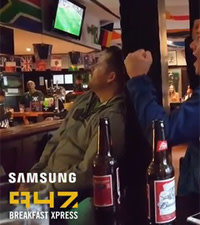 The highs and lows of watching a rugby match - SA vs. Samoa